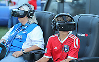 SAN JOSE, CA - AUGUST 31: Fans of the San Jose Earthquakes during a Major League Soccer (MLS) match between the San Jose Earthquakes and the Orlando City SC  on August 31, 2019 at Avaya Stadium in San Jose, California.