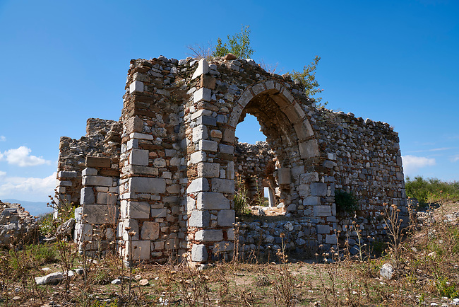 Islamic Prayer Hall. Miletus Archaeological Site, Anatilia, Turkey.