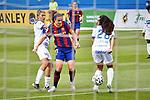 Liga IBERDROLA. Game 16.<br /> FC Barcelona vs UDG Tenerife Egatesa: 6-1.<br /> Natalia Ramos, Alexia Putellas & Sara.