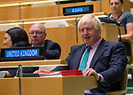 72 General Debate – 20 September <br /> <br /> <br /> Her Excellency Theresa May, Prime Minister of the United Kingdom of Great Britain and Northern Ireland <br /> <br /> Delegate