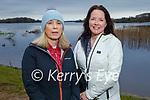 Enjoying a stroll near Ross Castle in Killarney on Saturday, l to r: Peggy O'Donoghue and Evonne Murphy