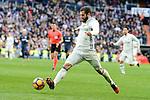 Real Madrid's Nacho Fernandez during La Liga match between Real Madrid and Malaga CF at Santiago Bernabeu Stadium in Madrid, Spain. January 21, 2017. (ALTERPHOTOS/BorjaB.Hojas)