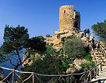 Spanien, Balearen, Mallorca, bei Banyalbufar: Mirador de Ses Animes | Spain, Balearic Islands, Mallorca, near Banyalbufar: Mirador de Ses Animes