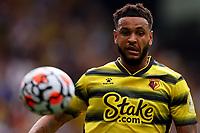 11th September 2021; Vicarge Road, Watford, Herts,  England;  Premier League football, Watford versus Wolverhampton Wanderers; Joshua King of Watford