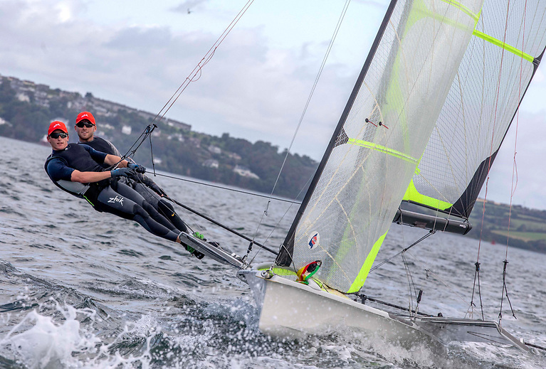 'Guilfoyle Durcan' Sailing, as they are now known, will compete in their first competitive race this winter when they head to Oman for the World championships.