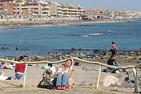 - Lido di Ostia, seafront.....- Lido di Ostia, lungomare