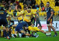 140516 Super Rugby - Hurricanes v Highlanders