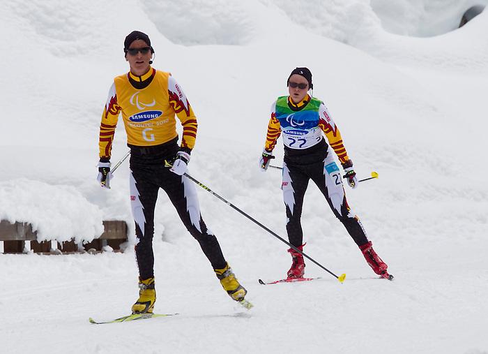 Margarita Gorbounova, Vancouver 2010 - Para Nordic Skiing // Ski paranordique.<br /> Margarita Gorbounova competes in Para Nordic Skiing // Margarita Gorbounova participe en Ski paranordique. 13/03/2010.