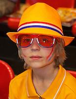 April 18, 2015, Netherlands, Den Bosch, Maaspoort, Fedcup Netherlands-Australia, Kids pressconference Photo: Tennisimages/Henk Koster