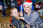 Kara Lawlor having her face painted by Sarah Flaherty at the Arts, Crafts and Food fare at the Ardfert Community Centre on Sunday.