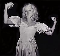 Susie Chaffee 1980s<br /> Photo By John Barrett/PHOTOlink