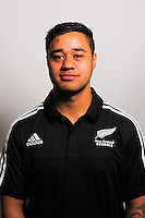 Kemara Hauiti Parapara. The 2015 New Zealand Schools rugby union team headshots at NZ Sports Institute, Palmerston North, New Zealand on Friday, 18 September 2015. Photo: Dave Lintott / lintottphoto.co.nz