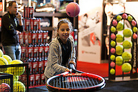 Rotterdam, The Netherlands, Februari 8, 2016,  ABNAMROWTT, Tecnifibre<br /> Photo: Tennisimages/Henk Koster
