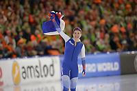 SPEEDSKATING: HEERENVEEN: 11-01-2020, IJsstadion Thialf, European Championship distances, 500m Ladies, European champion Olga Fatkulina (RUS), ©foto Martin de Jong