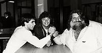 June 23 1979 File Photo - Montreal (Qc) Canada -  Canada. File photo  : Hilton brothers and the great Antonio (Grand Antonio)