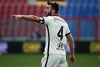 Bryan Cristante of AS Roma reacts during the Serie A football match between FC Crotone and AS Roma at stadio Ezio Scida in Crotone (Italy), January 6th, 2020. Photo Gino Mancini / Insidefoto