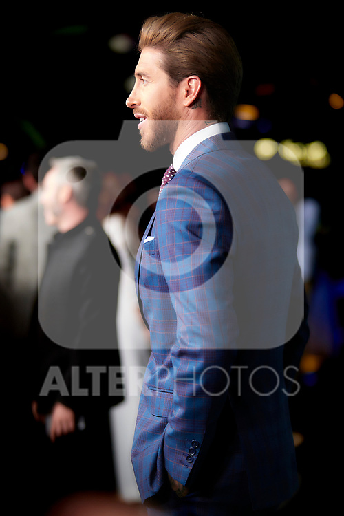 Sergio Ramos in the world preview of EL CORAZÓN DE SERGIO RAMOS, documentary series about the life of the captain of Real Madrid and the Spanish Soccer Team, at the Reina Sofía Museum on September 10, 2019 in Madrid, Spain.<br />  (ALTERPHOTOS/Yurena Paniagua)