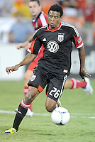 D.C. United forward Lionard Pajoy (16) D.C. United defeated The Chicago Fire 4-2 at RFK Stadium, Wednesday August 22, 2012.