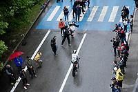 Ryan Gibbons (ZAF/Dimension Data)<br /> <br /> Stage 9 (ITT): Riccione to San Marino (34.7km)<br /> 102nd Giro d'Italia 2019<br /> <br /> ©kramon