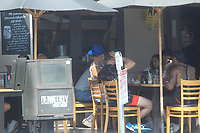 Tayler Holder Spotted Having Lunch In Hollywood