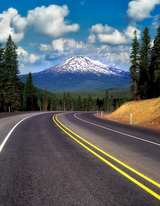 M00386M.tiff   Century Drive and Mt. Bachelor. Oregon