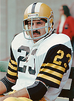 Rocky DiPietro Hamilton Tiger Cats. Copyright photograph Scott Grant