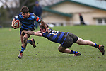 NELSON, NEW ZEALAND - AUGUST 1: UC Championship - Nelson College v CBH  Saturday 1 August 2020 , New Zealand. (Photo byEvan Barnes/ Shuttersport Limited)