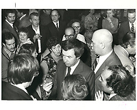 Joe Clark<br /> , le 12 avril 1979<br /> <br /> <br /> PHOTO : agence quebec presse