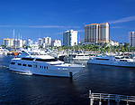 USA, Florida, Fort Lauderdale: Yachthafen, Hotels und Appartmentanlagen | USA, Florida, Fort Lauderdale
