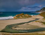 Little Sur River, Big Sur, Monterey County, California