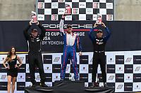 Race 2, GT3 Platinum Masters Podium, #99 Kelly-Moss/AM Motorsports, Porsche 991 / 2019, GT3P: Alan Metni (M), #23 NGT Motorsport, Porsche 991 / 2018, GT3P: Fred Kaimer (M), #20 Wright Motorsports, Porsche 991 / 2019, GT3P: Fred Poordad (M)
