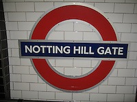 Notting Hill & Portobellow Market, London