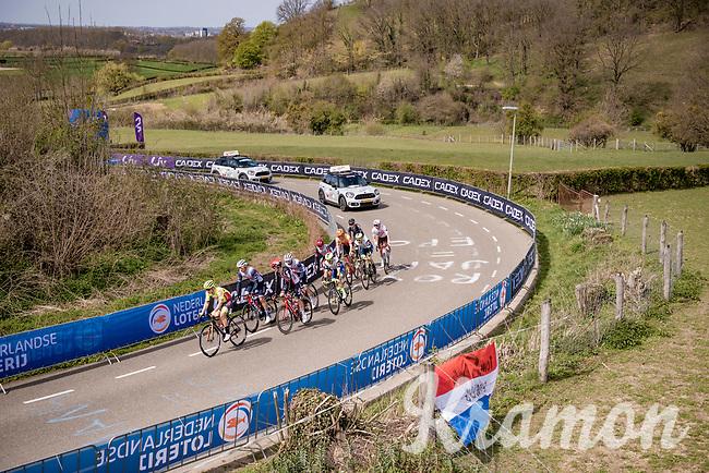breakaway group up the Bemelenberg <br /> <br /> 55th Amstel Gold Race 2021 (1.UWT)<br /> 1 day race from Valkenburg to Berg en Terblijt; raced on closed circuit (NED/217km)<br /> <br /> ©kramon