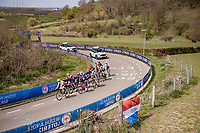breakaway group up the Bemelenberg <br /> <br /> 55th Amstel Gold Race 2021 (1.UWT)<br /> 1 day race from Valkenburg to Berg en Terblijt; raced on closed circuit (NED/217km)<br /> <br /> ©kramon
