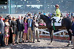 March 2010: Mission Impazible and Rajiv Maragh after winning the Louisiana Derby at the Fair Grounds in New Orleans, La.
