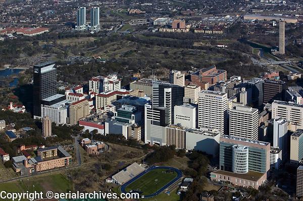 aerial photograph of the Houston Medical Center, Houston, Texas