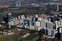 aerial photograph of the Houston Medical Center, Houston, Texas