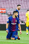Luis Suarez of FC Barcelona in action during the La Liga 2017-18 match between FC Barcelona and Las Palmas at Camp Nou on 01 October 2017 in Barcelona, Spain. (Photo by Vicens Gimenez / Power Sport Images
