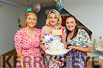 Aine O'Leary from Firies holding her baby shower in La Scala on Saturday.<br /> L to r: Orla Connell, Aine O'Leary and Anna Bergen