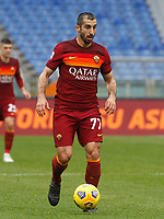 Roma's Henrikh Mkhitaryan in action during the Italian Serie A Football match between Roma and Genoa at Rome's Olympic stadium, March 7, 2021.<br /> UPDATE IMAGES PRESS/Riccardo De Luca