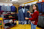Sylvia Lupan of Celsius Menswear's on Castle Street.