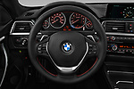 Car pictures of steering wheel view of a 2018 BMW 4 Series Gran Coupe 430i 5 Door Hatchback