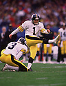Pittsburgh Steeler Gary Anderson (26) during a game from his 1992 season with the Pittsburgh Steeler. Gary Anderson played for 23 years all with 5 different teams and was a 4-time Pro Bowler.