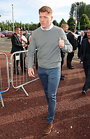 Pictured: Alfie Mawson Wednesday 18 May 2017<br />Re: Swansea City FC, Player of the Year Awards at the Liberty Stadium, Wales, UK.
