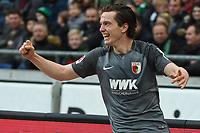 Michael Gregoritsch (FC Augsburg #11)<br /><br /><br /><br />, Hannover 96 - FC Augsburg, Football, Bundesliga, 10.03.2018 *** Local Caption *** © pixathlon<br /> Contact: +49-40-22 63 02 60 , info@pixathlon.de