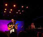 Justin Hayward, Mike Dawes and Julie Ragins perform in concert at The Rose.