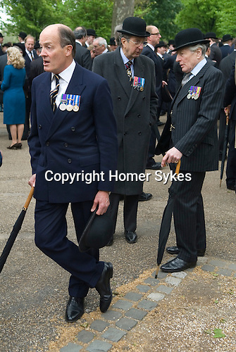 Combined Cavalry Old Comrades Association and parade Hyde Park London UK.