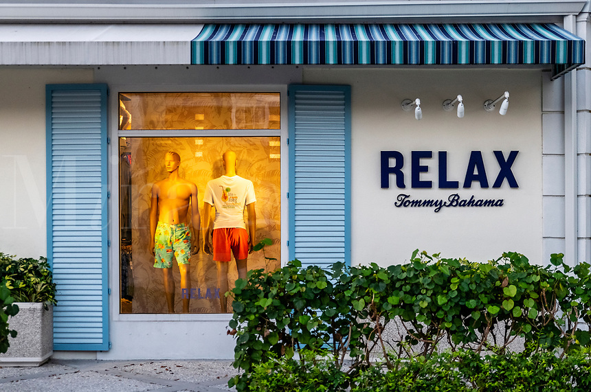 A Tommy Bahama store in the city of Naples.