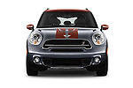 Car photography straight front view of a 2016 MINI Countryman Cooper S Park Lane 5 Door Hatchback Front View