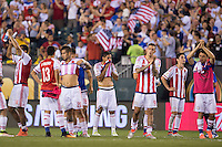 Action photo during the match United States vs Paraguay, Corresponding to  Group -A- of the America Cup Centenary 2016 at Lincoln Financial Field Stadium.<br /> <br /> Foto de accion durante el partido Estados Unidos vs Paraguay, Correspondiente al Grupo -A- de la Copa America Centenario 2016 en el Estadio Lincoln Financial Field , en la foto: Jorge Benitez de Paraguay<br />  <br /> <br /> 11/06/2016/MEXSPORT/Osvaldo Aguilar.